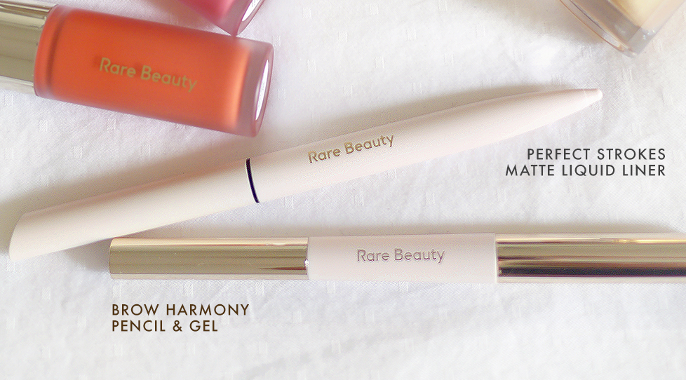 Rare Beauty Review - Liquid Liner and Brow Pencil & Gel | Sara du Jour