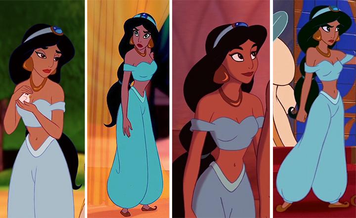 Princess Jasmine Animated Movie Outfit